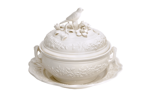 Bird Tureen w/ Stand - Large by Mottahedeh