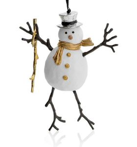 Michael Aram Snowman Ornament