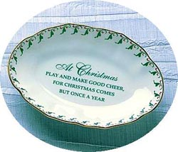 Mottahedeh Christmas Ring Tray
