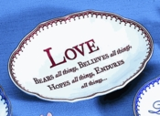 Mottahedeh Love Verse Ring Tray