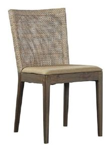Mid Century Woven Dining Chair