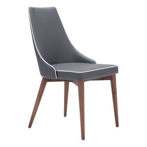 Noor Dining Chair Dark Gray