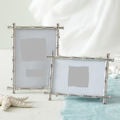 Silver Bamboo Photo Frames