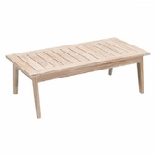 Teak Cocktail Table White Wash - Save 25%