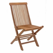 Teak Folding Chair - Save 25%