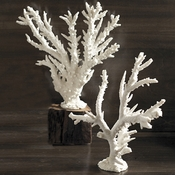 White Coral Sculpture