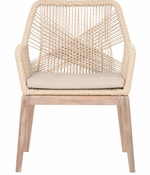 Woven Rope Dining Chair