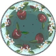 Apple Blossom (No writing) Medium Platter