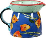 Betty's Pansies Water Jug