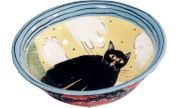 Black Cat Small Mixing Bowl