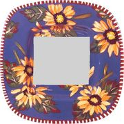 Blue Sunflower/Square Mirror