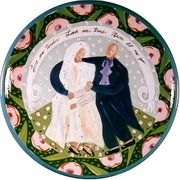 Bride and Groom/Medium Platter