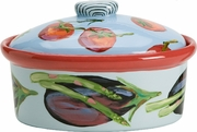 Eat Your Veggies Medium Oval Casserole