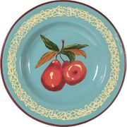 Fancy Fruit Salad Plate/Pear