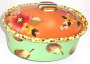 Fiesta Medium Oval Casserole