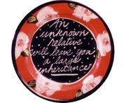 Flower Fortune Plate/Inheritance