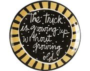Saying Fortune Plate/Growing Old