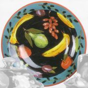 Fruit Salad Big Rimmed Bowl