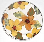 Gold Bouquet/Daisy Salad Plate