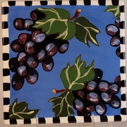 Grape/ Pear Trivet
