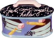 I Just Can't Help Myself! Large Lidded Candy Dish