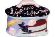 I Just Can't Help Myself! Small Lidded Candy Dish