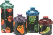 Marcia's Vegetable Set of 4