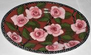 Indian Rose/Small Oval Platter