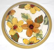 Gold Bouquet/Daisy Dinner Plate