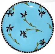 Flower Patch/Violet/Unrimmed Salad Plate