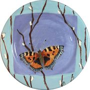 Butterfly/Willow Dinner Plate