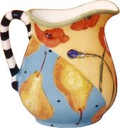 Pear/Poppy Large Pitcher