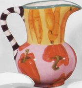 Pepper/Carrot Jug