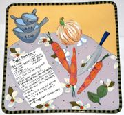 Recipe/Savory Square Platter<br>PERSONALIZED