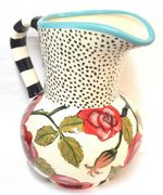 Red Rose Jug