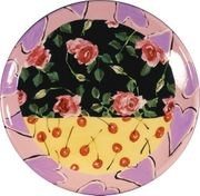 Rose Cherry Large Platter