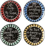 Saying Fortune Plates