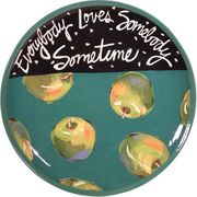 Song Plate/ Apple