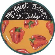 Song Plate /Red Pepper