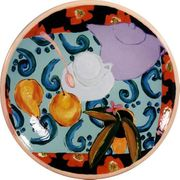 Still Life Cup and Saucer/ Large Platter