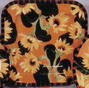 Sunflower Square Platter