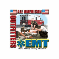 All American Emergency Medical Technician EMT Paramedic Taking care of America shirt sayings