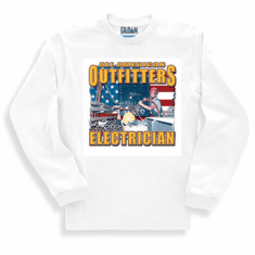 All American Outfitters Electrician long sleeve t-shirt shirt sweatshirt