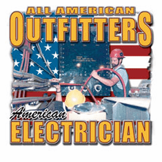 All American Outfitters Electrician shirt
