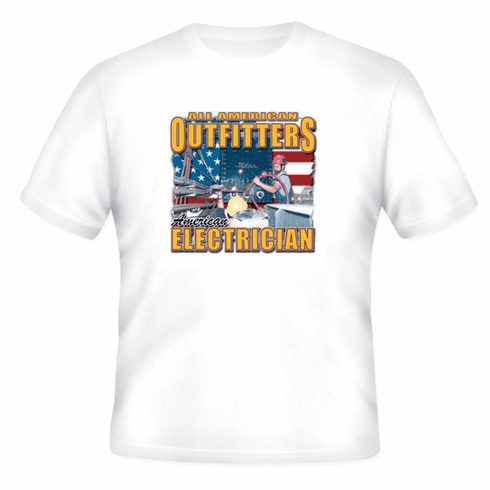 All American Outfitters Electrician t-shirt shirt