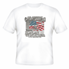 All American Outfitters Union Iron Worker Building America since 1776 t-shirt shirt