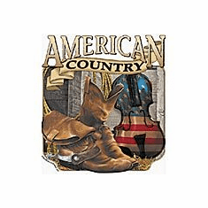 American Country and Western music shirts