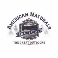 American Naturals the Great Outdoors lake picture shirt
