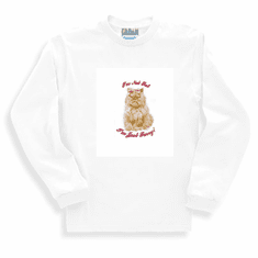 Animal Nature kitten kitty cat I'm not fat I'm just furry sweatshirt long sleeve t-shirt