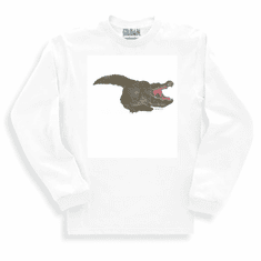 Animal Nature wild alligator long sleeve t-shirt sweatshirt